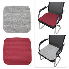 2pcs Kitchen Dining Chair Pad Rocking/Wicker Seat Cushion 18x18inch Red/Grey