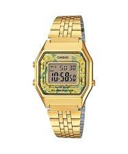 Vintage Casio LA680WGA-9C Ladies Gold Digital Womens Watch NEW LA680