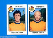 CALCIATORI PANINI 1982-83 - Figurina-Sticker n. 525 - BERNI#BORGO-PISTOIESE -Rec