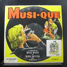 Various - Musi-Que Volume III Playon & Playoff Moods LP VG+ BR-1045 Mono Record