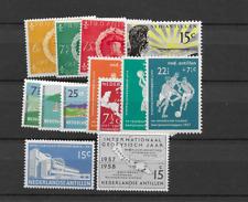 1957 MNH Nederlandse Antillen, year complete