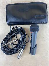 Shure PE15H HI Z Microphone W/case And Cord