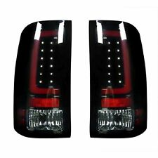 RECON 264389BK GMC Sierra 07-13 1500  2500  3500 Smoked Lens Tail Lights LED