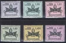 Vaticaan postfris MNH P19-P24 - Portzegels