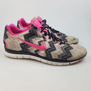 Women's NIKE 'Free TR Fit 3 Print' Sz 7 US Runners Shoes GCon | 3+ Extra 10% Off