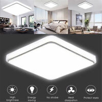 12 24W Square LED Ceiling Down Light Flush Mount Kitchen Bedroom Fixture Lamp