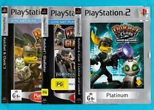 Ratchet and Clank Collection - Playstation 2 Games - Complete,