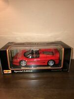 Maisto Special Ed. 1995 Ferrari F50 (Red) 1:18 scale Diecast Metal Car (46629)