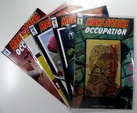 IDW MARS ATTACKS OCCUPATION (2016) #1 2 3 + VARIANTS LOT of 5 VF/NM Ships FREE!