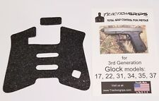 ULTRA THIN RUBBER TRACTION GRIP TAPE FOR GEN 3 glock models 17,22,24,31,34,34,35