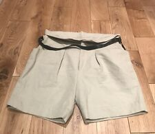 Isabel Marant Cotton & Linen Mix Shorts. BNWT. Size FR38/UK10
