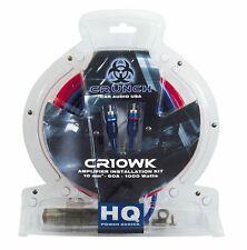 Crunch CR10WK 10mm²  Anschluss- / Powerkabel Set Endstufen Stromversorgung