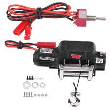 Seilwinde Winch Seilzugwinde mit Control für Traxxas 1/10 RC Auto Crawler 4WD ▼