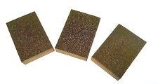 6 piezas de espuma de lijado bloques Esmeril Bloque De Metal 60 80 y 100 Grit Tz dc074