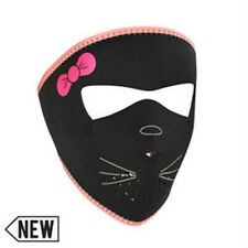 Small Hello Pink Kitty Child Kid Size Neoprene Face Mask Costume Party Reverses
