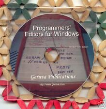Programmers' Editors for Windows ...