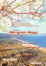 France Serignan Plage Une plage heureuse Map Le Serignan Plage S.P Naturiste
