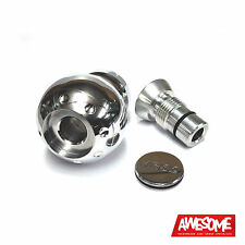 FORGE BIG ALLOY GEAR KNOB AUDI VW SEAT SKODA (POLISHED) FMBK