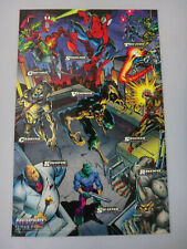 Marvel Cards 1994 Amazing Spider-Man Masterprints Enemies III Mark Bagley - NEW