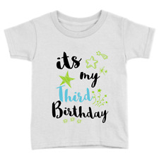 It's My Third Birthday Boys Kids T-Shirt 3rd Birthday Years Old Gift Present