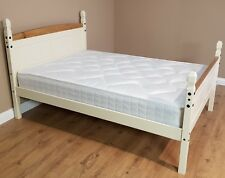 Corona Painted 5' King High Foot End Solid Pine Bed Frame by Mercers Furniture