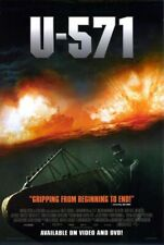 U-571 (2000) original DVD/video poster - single-sided - rolled