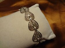 OTTOMAN GREEK SILVER HAND MADE FILIGREE BRACELET