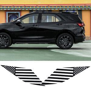 for Chevrolet Equinox 2018 2019 2020 2021 Rear Quarter Window Decals Sticker