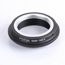 Metal Leica M39 L39 Mount Lens to NEX Adapter Ring NEX-3 NEX-C3 NEX-5L Camera