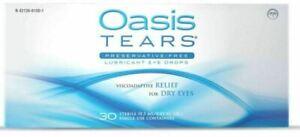 OASIS TEARS 30 VIALS-NEW EXPIRES 2022