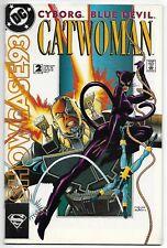 Showcase '93 #2 (DC, 1993) – Catwoman – Cyborg – Blue Devil – VF+