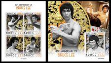 Sierra Leone 2020 80th anniversary of Bruce Lee. (604)