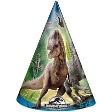 Jurassic World Party Hats 8ct #350464