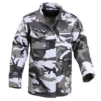 kids coat jacket m-65 style woodland camo with liner rothco 7660