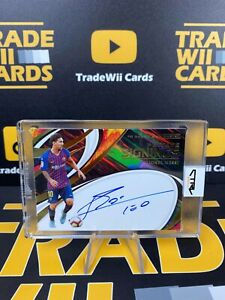 LIONEL MESSI Private Signings ON CARD AUTO - Panini Obsidian Soccer 2020