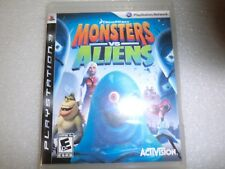 PS3 Monsters vs Aliens - Playstation 3 - New/Factory Sealed