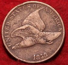 1858 Philadelphia Mint Copper-Nickel Flying Eagle Cent