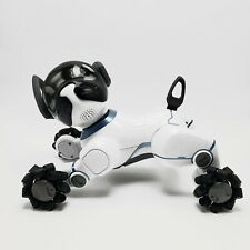 WowWee Chip Toy Robot Dog White 0805 Trainable Interactive Pet Play Puppy