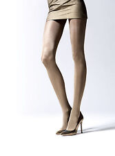 Gold Metalic Gloss Effect Thicker Tights Plus Size Women Tights Hosiery T45