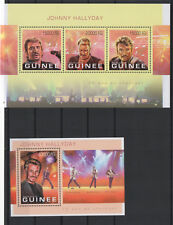 Guinea 2013 johnny hallyday slip and official block new **