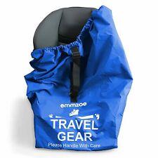 Emmzoe Car Seat Airport Gate Check Travel Storage Bag Durable Waterproof Nylon