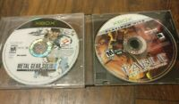 Fable: The Lost Chapters + Metal Gear Solid 2 Substance (Xbox) Disc Only