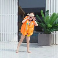 Inflatable Kids Jacket Summer Beach Pool Float Fun And Safe Bathing Ring Toys