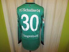 FC Schalke 04 Adidas Langarm Matchworn Trikot 13/14 + Nr.30 Klingenburg Gr.8 (XL