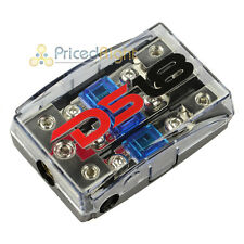 DS18 Mini Anl Fuse Holder 0 4 8 Gauge Input Output FD1024 Distribution Block