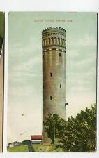Vintage Postcard RACINE WI Water Tower 1908