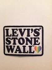 Levi's Stonewall Gay Pride Parade NYC 2015 Embroidered Iron On Patch