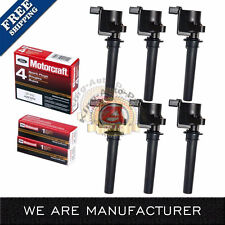 Motorcraft Spark Plugs with Ignition Coil Packs for Ford Escape Mazda Mercury