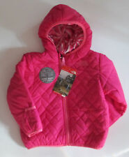 NUEVO CON ETIQUETA The North Face para niña Rosa Reversible Perrito Chaqueta