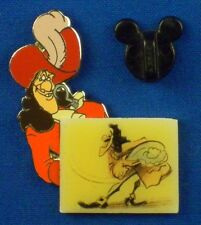 Captain Hook Peter Pan Scene Sketch Villain Boxed LE-5000 Disney Pin # 14642